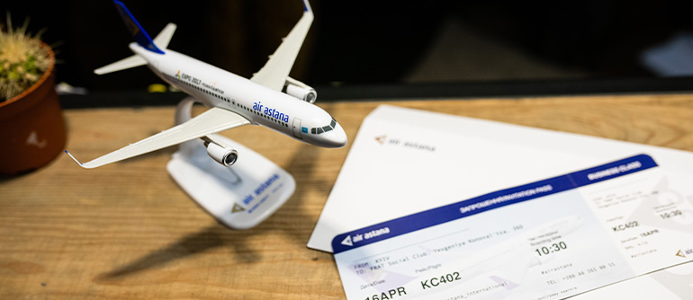 Passenger traffic of Air Astana flights to / from Ukraine increased by 19%